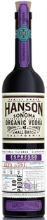 Hanson Of Sonoma Vodka Organic Espresso 750ml